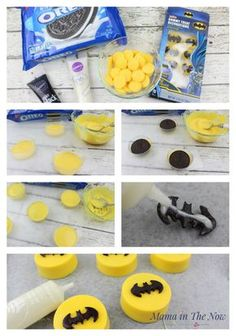 Make The Most Awesome LEGO Batman Oreos how to make LEGO® Batman oreos. Decorations and snacks for a birthday party - easy and simple.how to make LEGO® Batman oreos. Decorations and snacks for a birthday party - easy and Make The Most Awesome LEGO Batman Birthday Party Snacks, Superhero Birthday Party, Snacks Für Party, Birthday Cupcakes, Boy Birthday Parties, Lego Parties, Super Hero Party Snacks, Birthday Ideas, 2nd Birthday