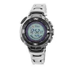 Casio Mens PAW1500T-7V Pathfinder Multi-Band Solar Atomic Ultimate Watch