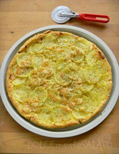 Sfoglia con patate e cipolla