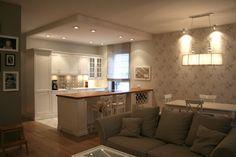 kitchen stylish , white