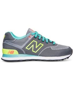 New Balance Women's 574 Casual Sneakers from Finish Line - Finish Line Athletic  Shoes - Shoes
