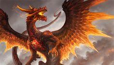 Red Crystal Dragon by sandara.deviantart.com on @DeviantArt