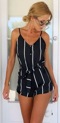 If ever I wore a romper... I'd want it to look like this! Discover more rompers of 2015 at CUPSHE.com with factory direct price and Free Shipping!