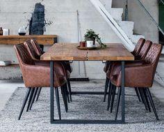Narvik matbord Rakt underrede Modern Interior, Interior Architecture, Interior And Exterior, Interior Design, Narvik, Dining Area, Dining Table, Industrial House, New Room
