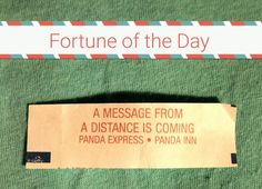 #FortuneoftheDay #fortunecookie #fortune July 25th