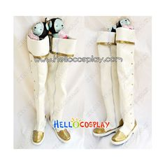 Trinity Blood Cosplay Seth Nightlord Boots ($75) ❤ liked on Polyvore featuring shoes and boots