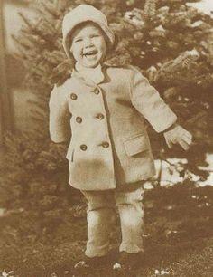 Grace Kelly as a kid