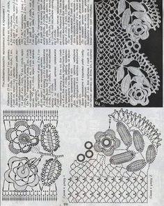 Ivelise Feito à Mão: Acervo de Crochê Irlandês