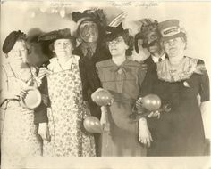 Grandma Jones is second from the left.  Closest thing to a smile that I ever saw from her.