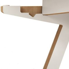 Made from FSC Birch plywood, the A Desk was designed for creative types who want to adjust the working position of their desktop.
