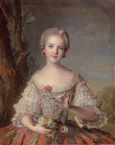 Madame Louise de France (1748) by Jean-Marc Nattier - Louise-Marie de Bourbon