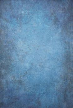 Blue Abstract Textured Photography Backdrop for Photographers GC-163 - 6.5'W*10'H(2*3m)