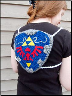 Ravelry: BunnieBard's Hylian Backpack. I'm seriously making this one. No kidding, this will be made.