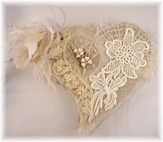 Heart Lace book