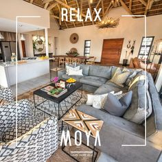 Make Moya your home-from-home in the African bush and become part of our amazing, global family… Villa, Relax, African, Couch, Patio, Luxury, Amazing, Outdoor Decor, Furniture