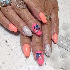 Sign me up for a one of a kind, truly unique accent nail! 🕊 #nailart #nailsticker #manicure #nailtreatment #nailgel