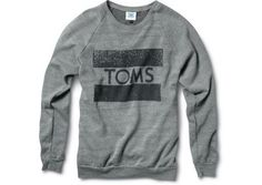 Apparel & Accessories - Classics TOMS Crew Neck Sweatshirt | TOMS.com