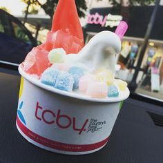 The perfect way to end a long week... #tcby #froyo #summer #dessert