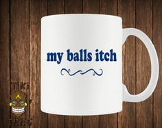 Funny Christmas Mug Rude Inappropriate Xmas Tea Cup Gift Idea For Best Friend