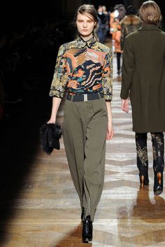 Dries Van Noten   Fall 2012 Ready-to-Wear Collection   Style.com