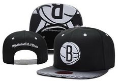 detailed look 226a2 34d03 NBA Brooklyn Nets Mitchell And Ness Snapback Hats