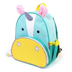 Kids' Backpacks - Skip Hop Zoo Little Kid and Toddler Backpack Ages 2 Multi Eureka Unicorn ** Check out the image by visiting the link. Animal Backpacks, Colorful Backpacks, Cool Backpacks, Mochila Skip Hop, Vogue Kids, Skip Hop Zoo, Boite A Lunch, Agatha, Toddler Backpack