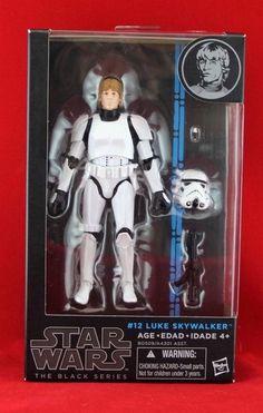 """Luke Skywalker Stormtrooper Disguise Star Wars Black Series 6"""" Action Figure NIB #Hasbro"""