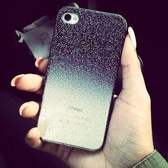 Glitter  Ombré iPhone case