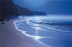 Maurice Bishop - Together on a moonlit beach