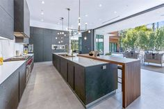 16033 Valley Vista Blvd, Encino, CA 91436 featured on modciti Home Theater Receiver, Luxury Homes Dream Houses, Random House, Cuisines Design, Interior Design Kitchen, Home Remodeling, Building A House, Home And Family, House Design