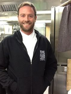 AAROME Sweatshirt You can buy this (...the sweatshirt not the Chef!) during Pasta Book Presentation Saturday November 23 at AARome with all proceeds going to support the Rome Sustainable Food Project. Events calendar on www.aarome.org