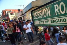 Baguio suspends classes as tourists flock to city for long weekend