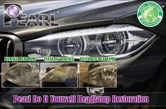 Pearl Headlamp Restoration Products