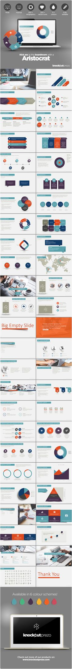 Flat Infographic Presentation Presentation templates and Infographic - powerpoint resume