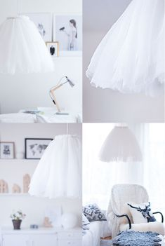 DIY: ballerina lamp