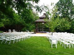 Unity of Garden Park wedding Gazebo.