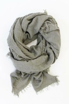 This scarf is super soft and light as a feather.