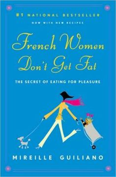 """Stylish, convincing, wise, funny, and just in time: the ultimate non-diet book, which could radically change the way you think and live – now with more recipes.French women don't get fat, even though they enjoy bread and pastry, wine, and regular three-course meals. Unlocking the simple secrets of this """"French paradox"""" – how they enjoy food while staying slim and healthy – Mireille Guiliano gives us a charming, inspiring take on health and eating for our times"""