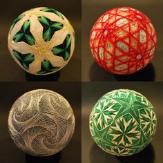 92-Year-Old Woman-Embroided-Astounding-Collection-of-Traditional-Japanese-Temari-Balls-11