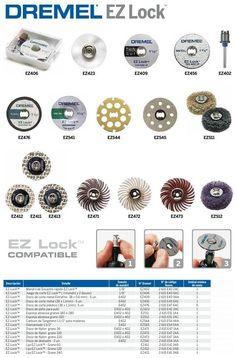 Dremel EZ Lock: a Helpful and Supportive Guide in Your Creative Home Projects with Easiness, Readiness, and Safety - Before After DIY Dremel Bits, Dremel Drill, Dremel Rotary Tool, Dremel Multi Tool, Dremel Tool Accessories, Jewelry Tools, Dremel Wood Carving, Carving Tools, Accessoires Dremel