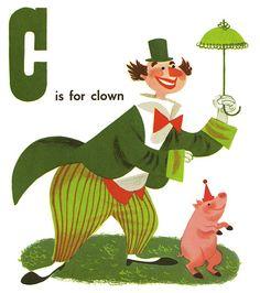 circus alphabet by patrick hudson