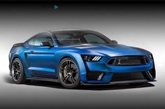 2015 Ford Mustang Shelby GT500 Rendering