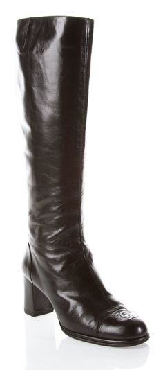 Chanel Black Boots 2018
