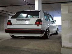 Golf MK2 low