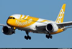 Scoot Airlines Boeing 787-8 Dreamliner