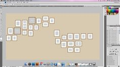 designing your own wall gallery in photoshop by photographer Juli Evans