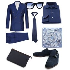 nice navy colour Mad Men Fashion, Monk Strap Shoes, Bespoke Tailoring, Mens Style Guide, Navy Color, Colour, Suit And Tie, Dress Suits, Gentleman Style