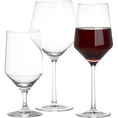 Tour 24 oz. Red Wine Glass in Top Drinkware, Bar Tools | Crate and Barrel