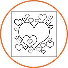 valentine's day coloring pages preschool