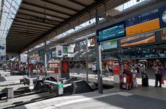 Munich main rail station.
